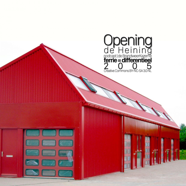 Opening de Heining cover