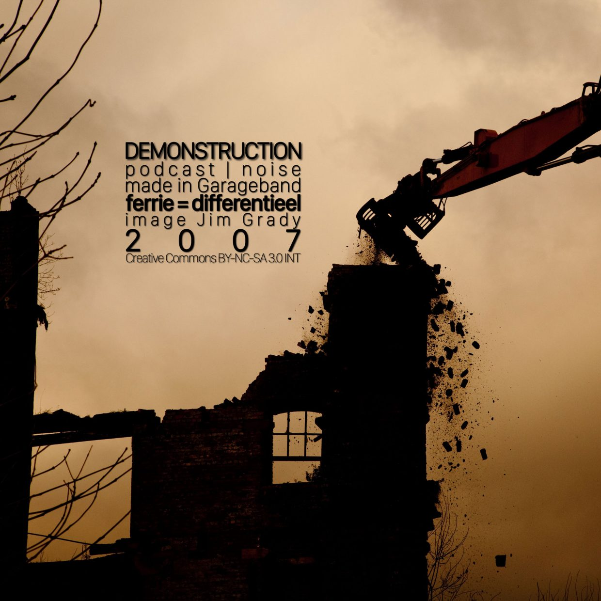 Demonstruction podcast cover