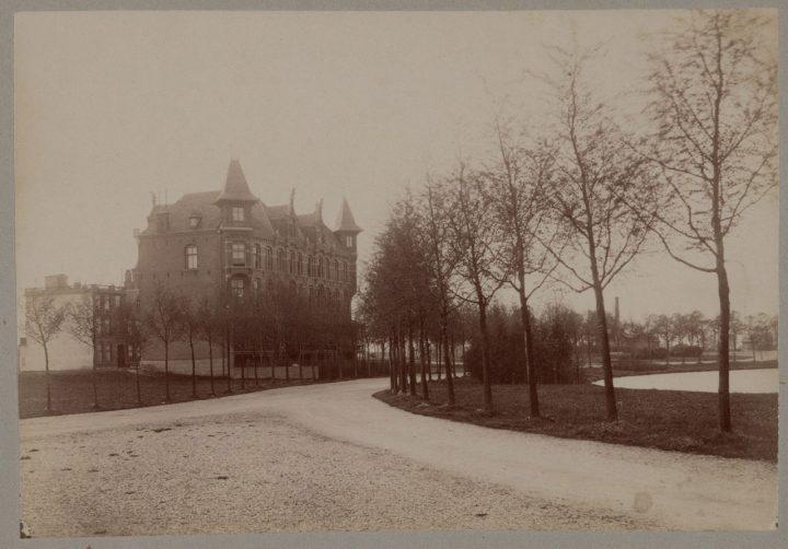 12 Sophialaan vijver Vondelpark 1920